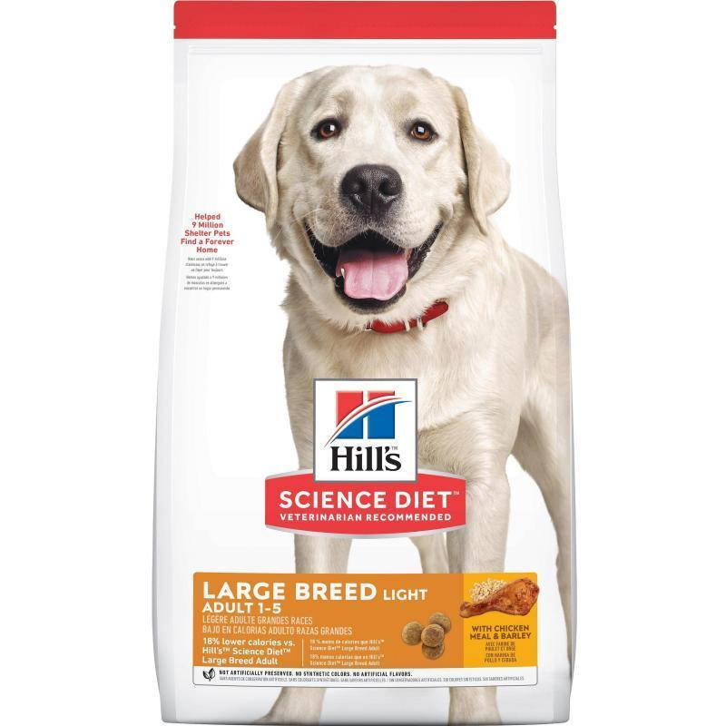 Hill's Hill's Science Diet Dog Light Large Breed