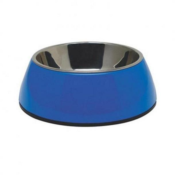 Dogit Dogit 2 in 1 Durable Dog Bowl Blue 160ml