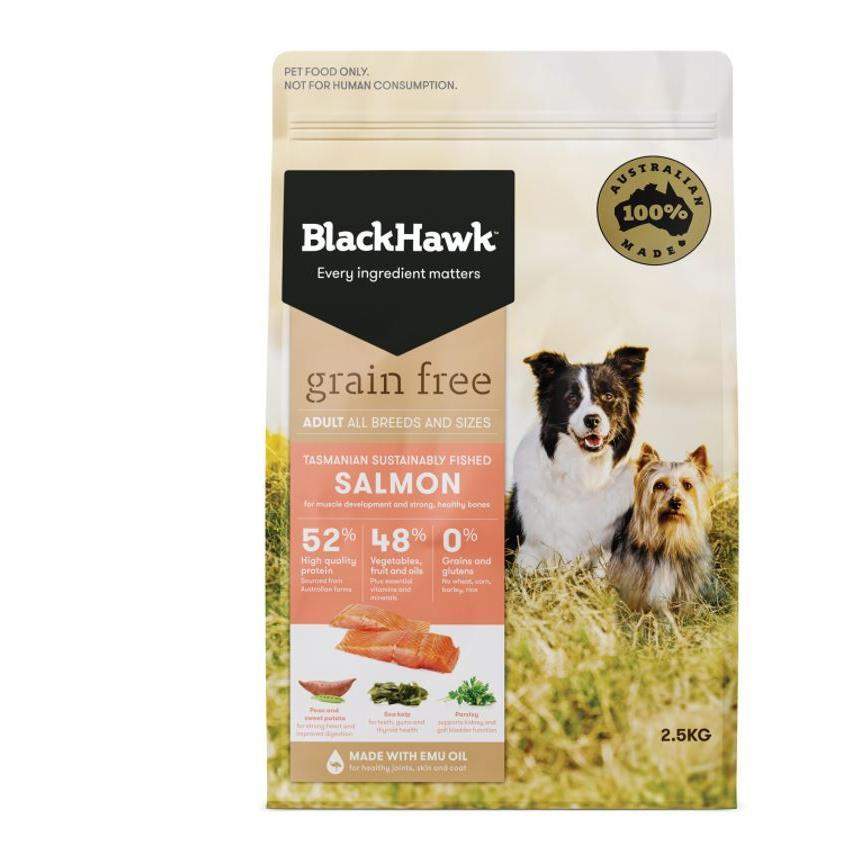 Black Hawk Black Hawk Dog Grain Free Salmon