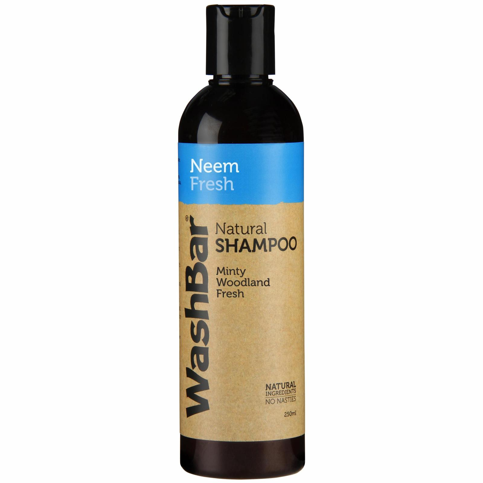 Washbar WashBar Natural Shampoo Neem Fresh 250ml
