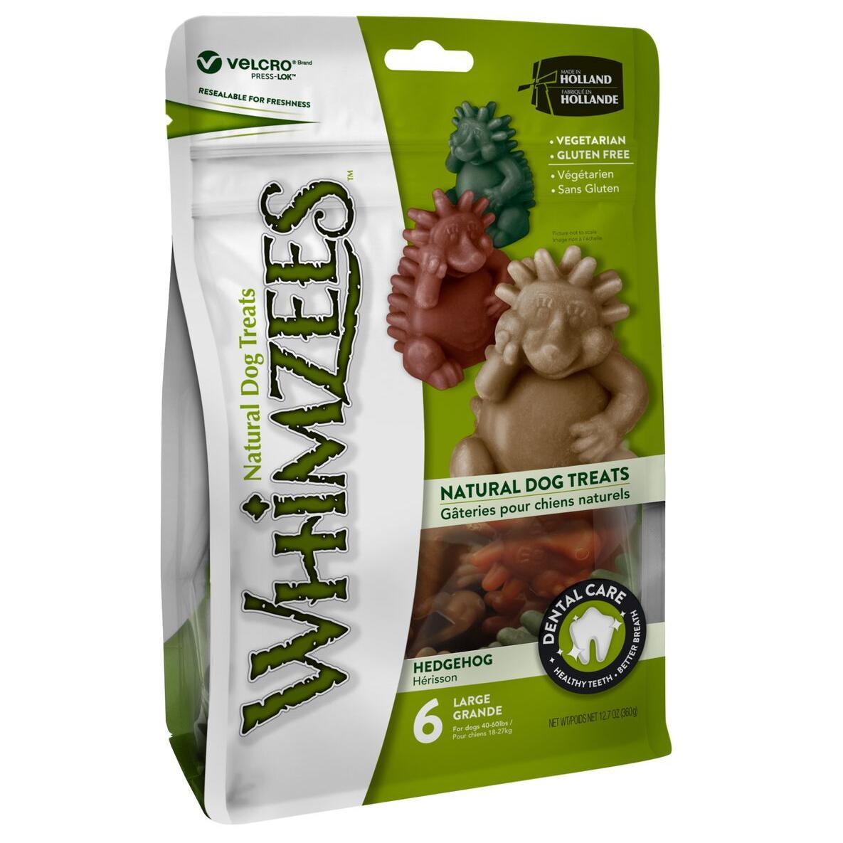 Whimzees Whimzees Hedgehog Large 6 Pack
