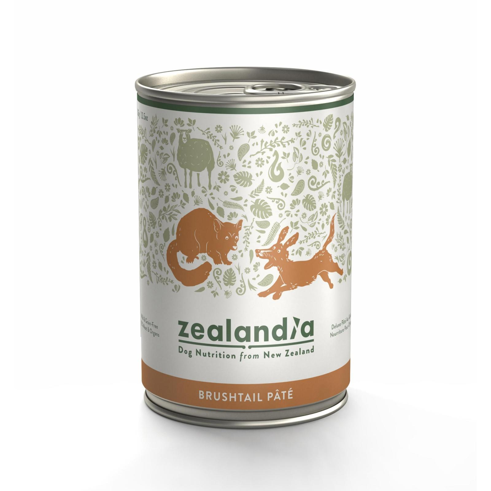 ZEALANDIA Zealandia Brushtail Wet Dog Food 385g