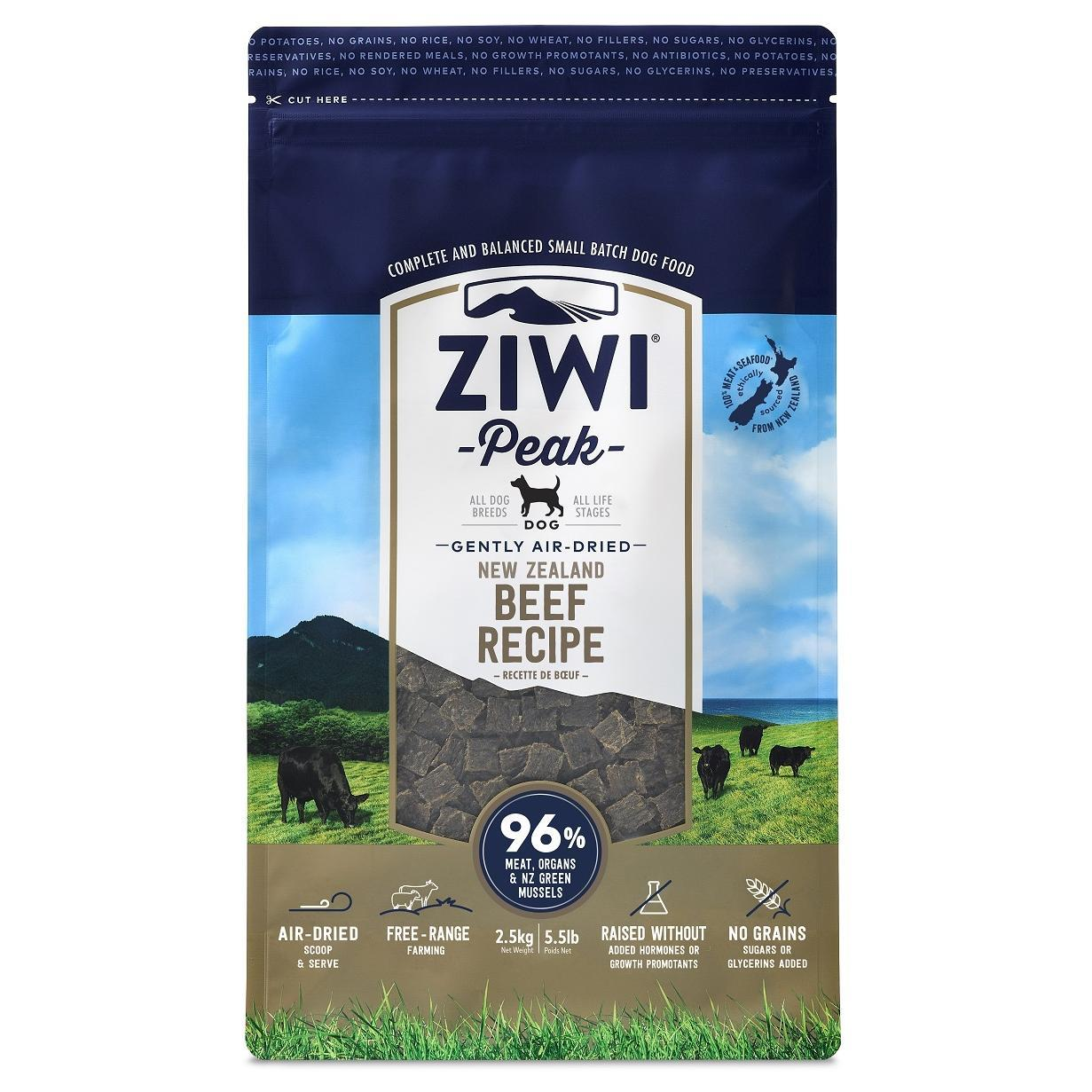 ZiwiPeak Ziwi Peak Air Dried Beef Dog Food
