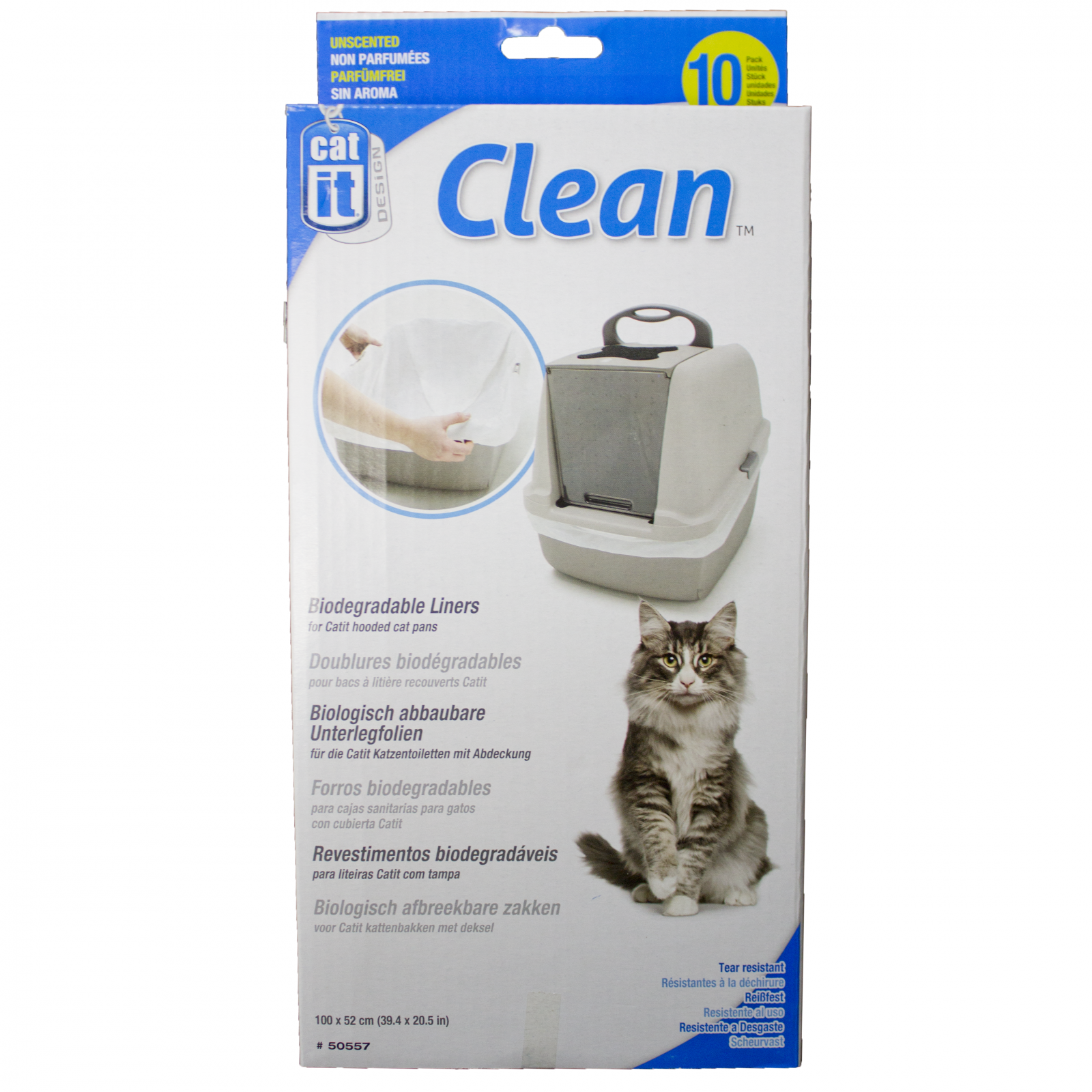 Catit Catit Biodegradable Litter Box Liners 10 Pack