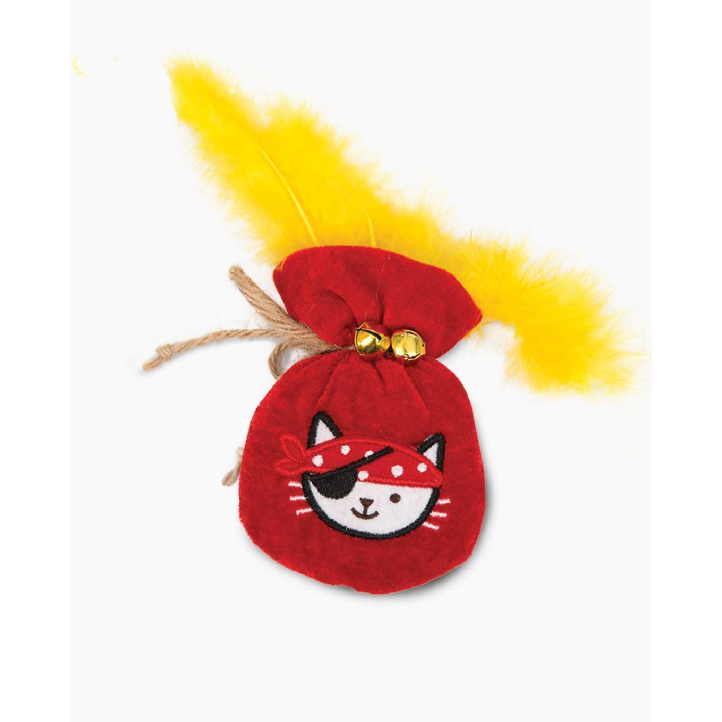 Catit Catit Pirates Catnip Pouch of Gold