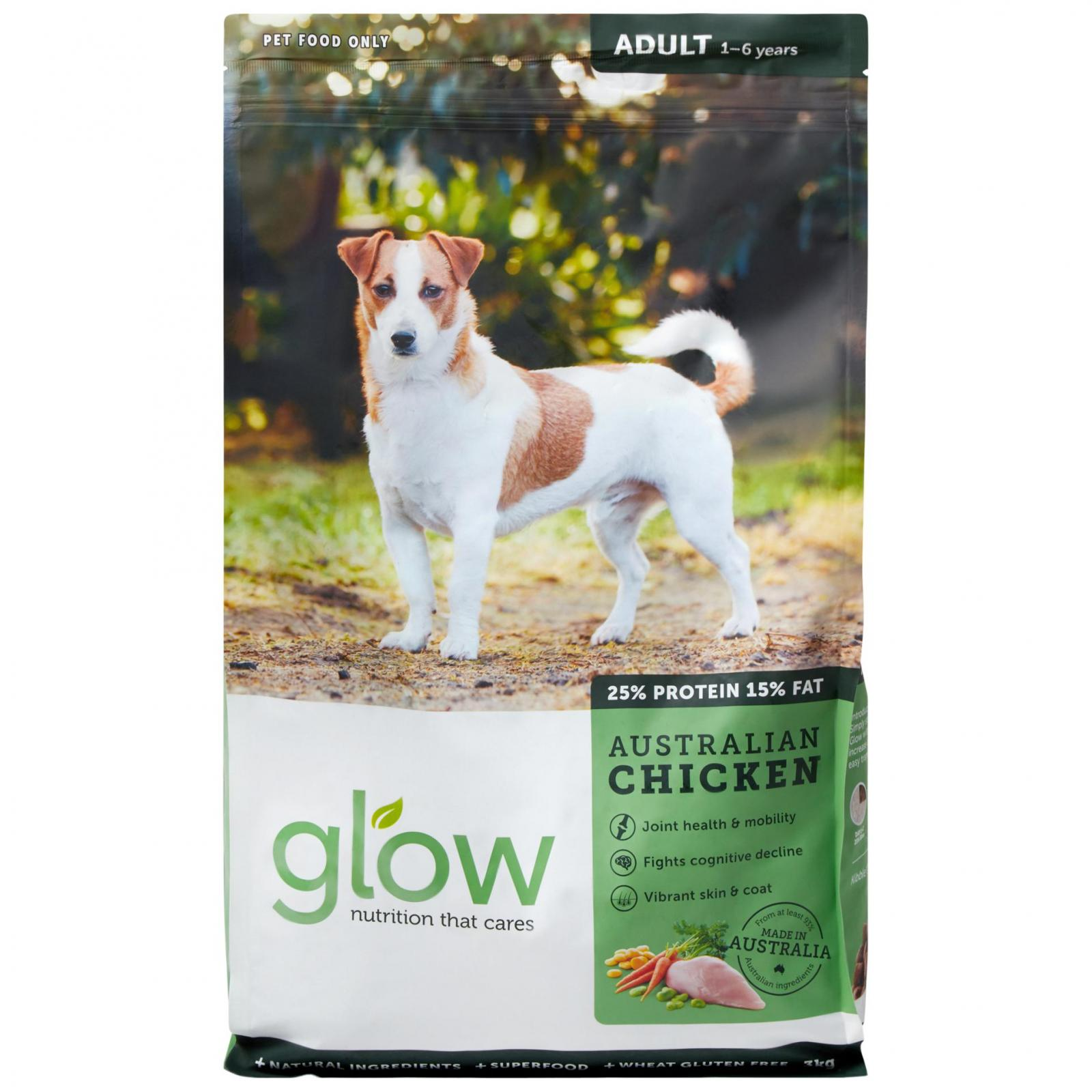 GLOW Glow Australian Chicken Dry Adult Dog Food