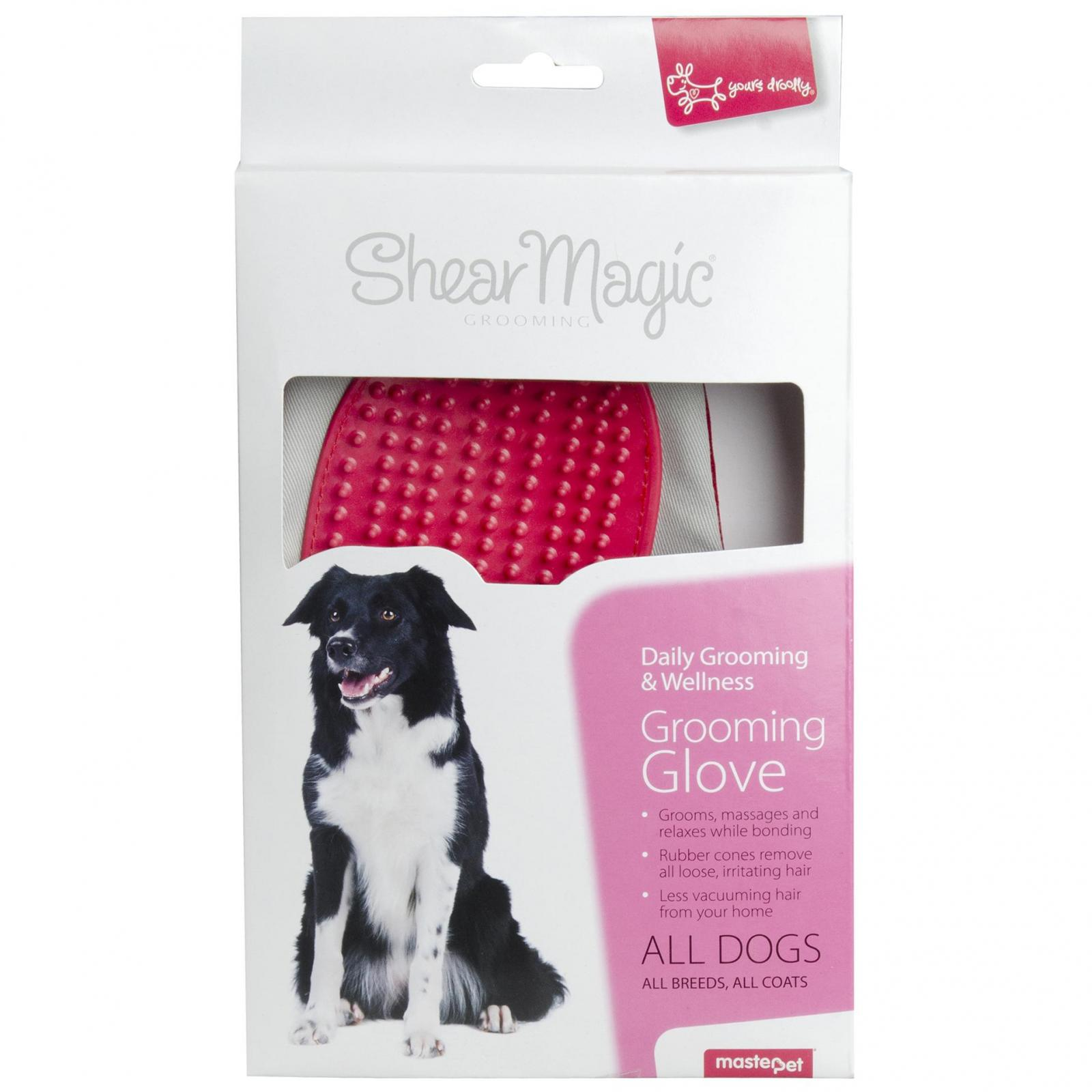 Yours Droolly Yours Droolly Shear Magic Grooming Glove