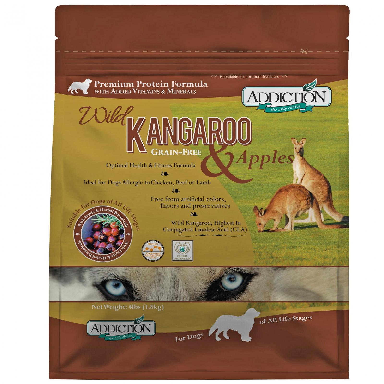 ADDICTION Addiction Wild Kangaroo & Apple Grain Free Dry Dog Food