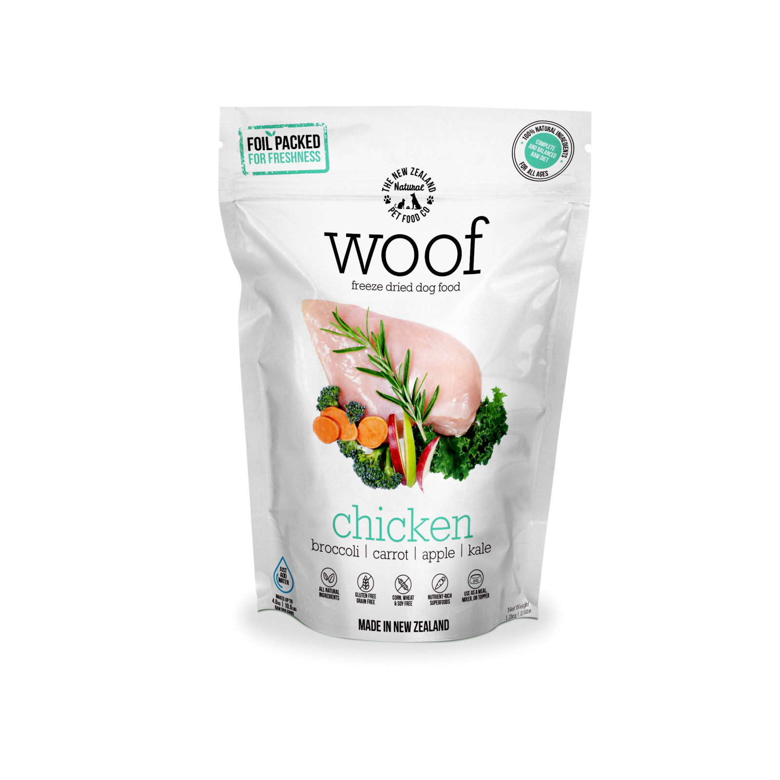 WOOF Woof Chicken Freeze Dried Dog Food
