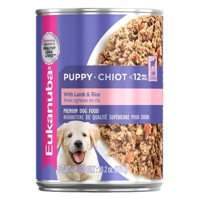 Eukanuba Eukanuba Puppy Cans with Lamb & Rice