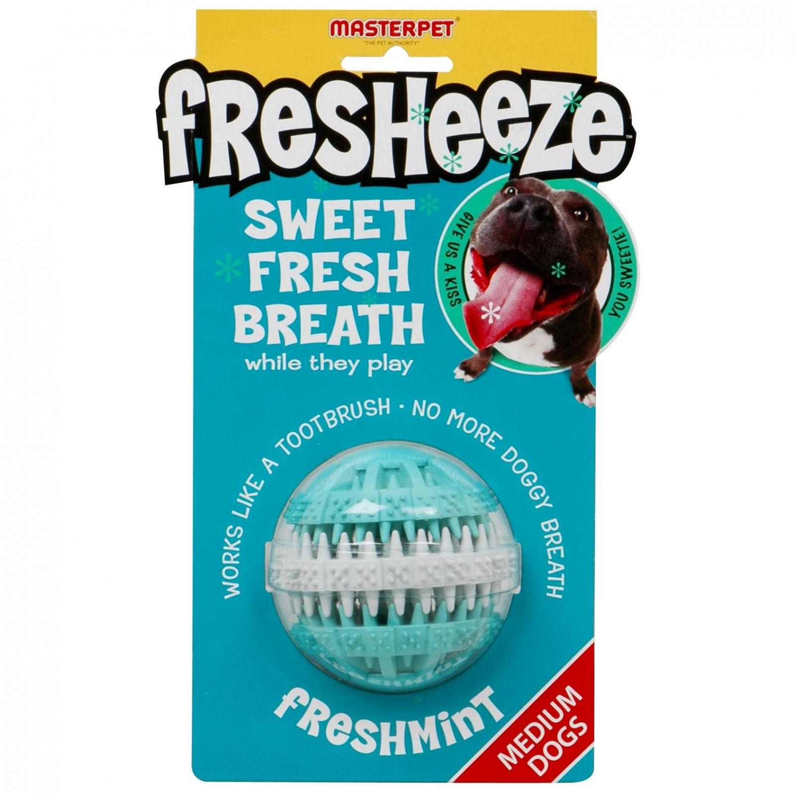 Yours Droolly Yours Droolly Fresheeze Rotating Dental Ball Medium
