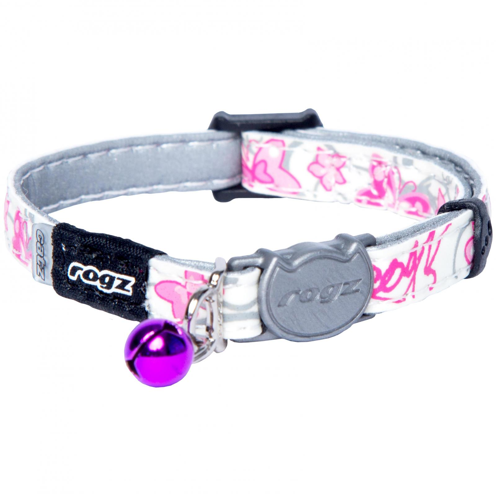 Rogz Rogz Glowcat Safeloc Collar Extra Small