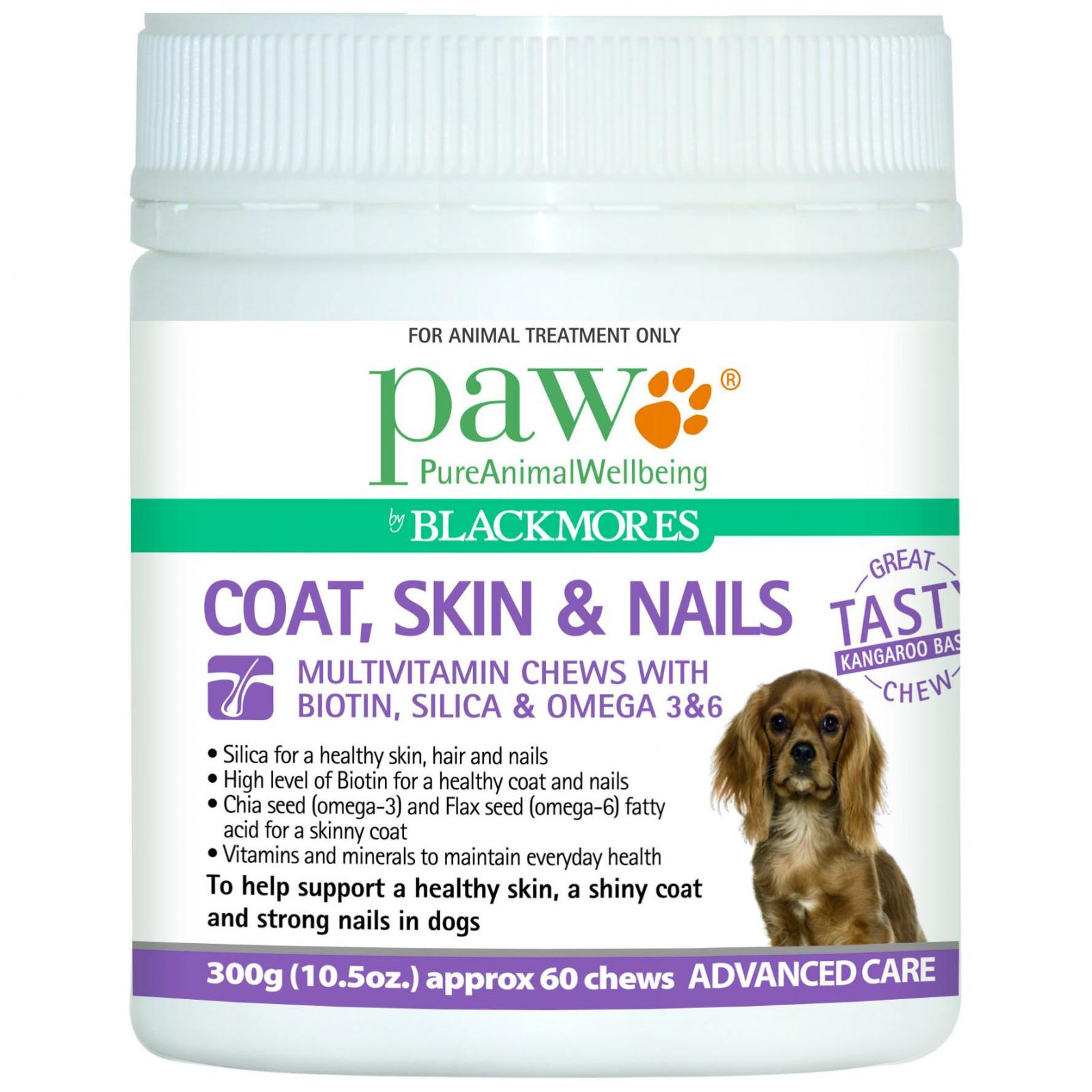 Paw PAW Coat, Skin & Nails Multivitamin Chews 300g