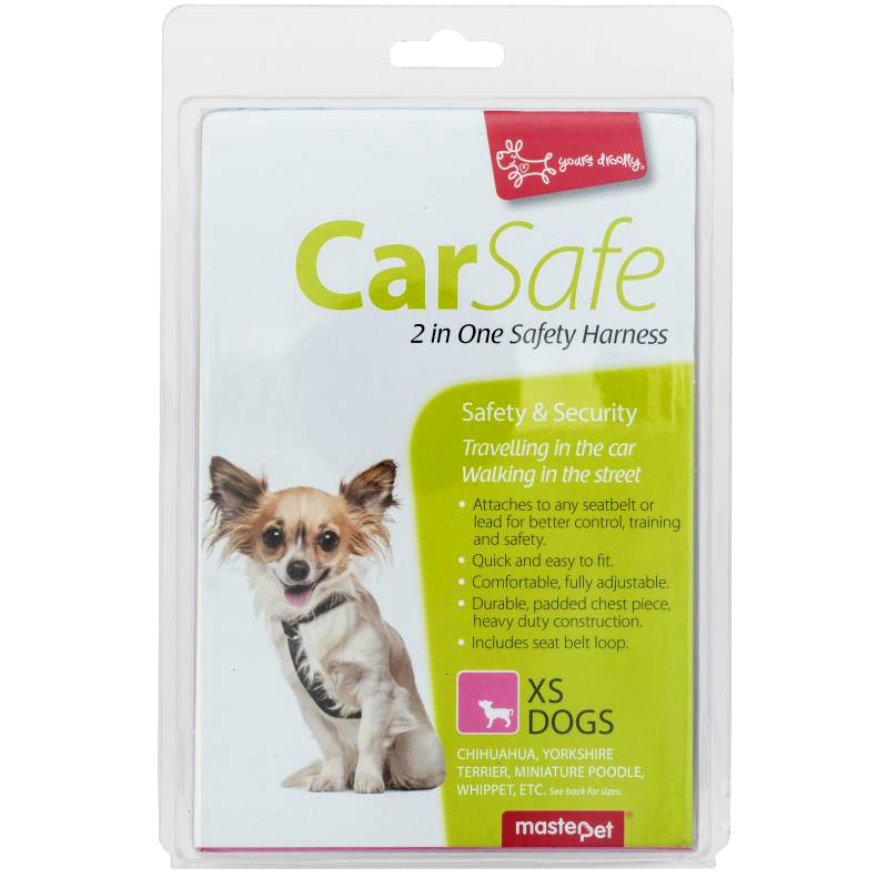 Yours Droolly Yours Droolly 2 in 1 Car Harness