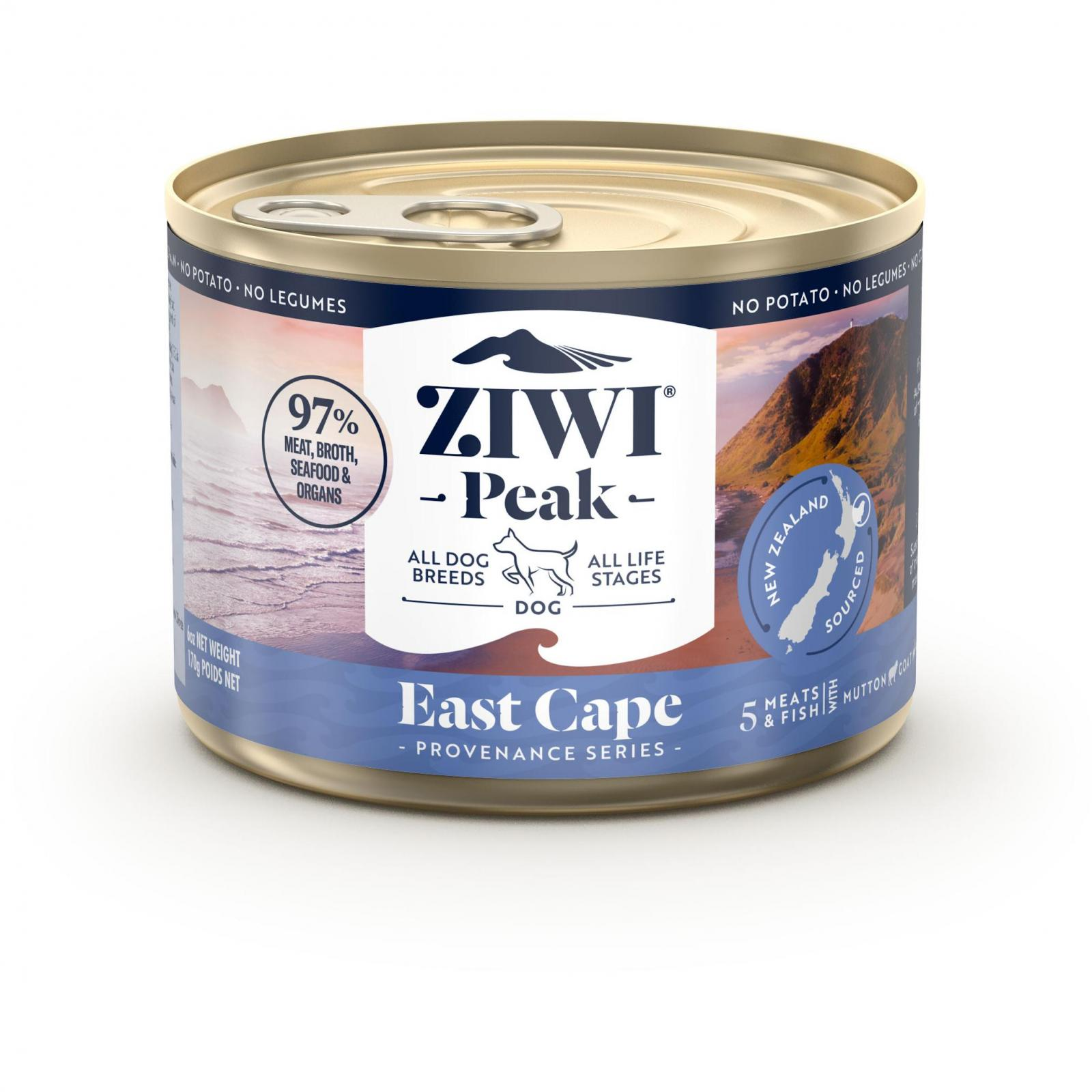 ZiwiPeak Ziwi Peak Provenance East Cape Wet Dog Food