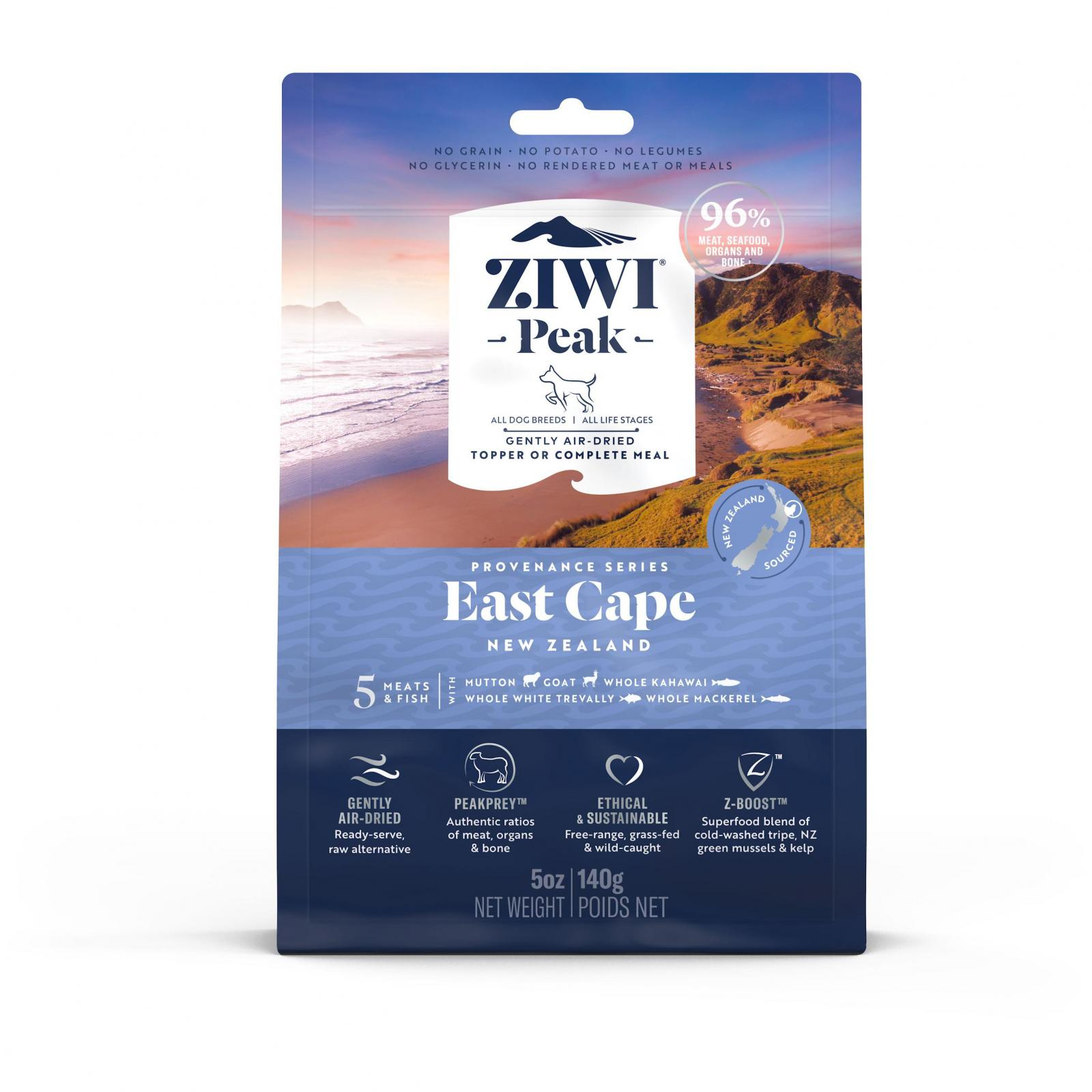 ZiwiPeak Ziwi Peak Provenance Air Dried East Cape Dog Food