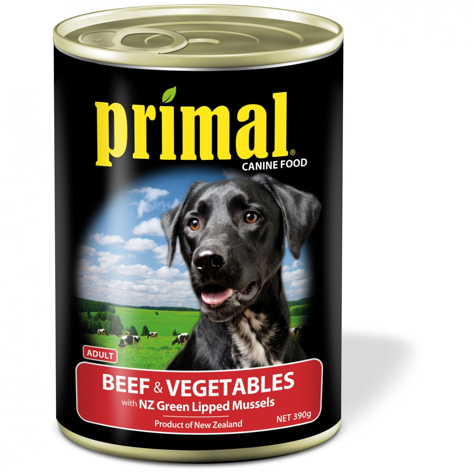 Primal Primal Dog Beef & Vegetables