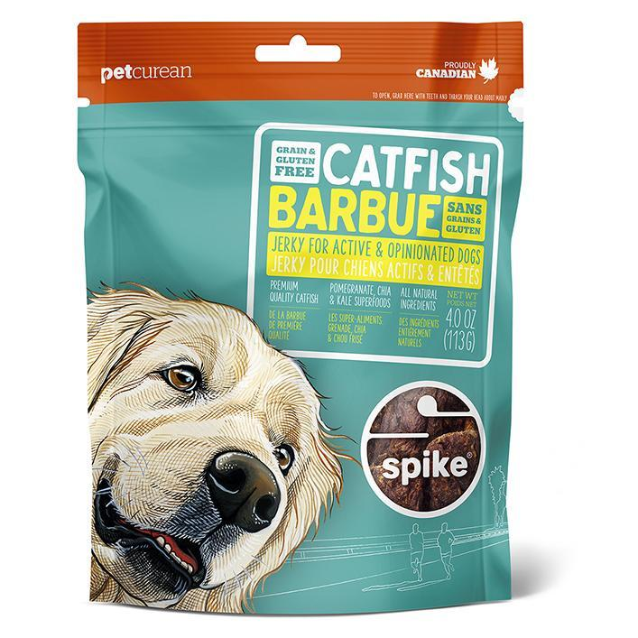 SPIKE SPIKE Grain Free Catfish Jerky For Dogs