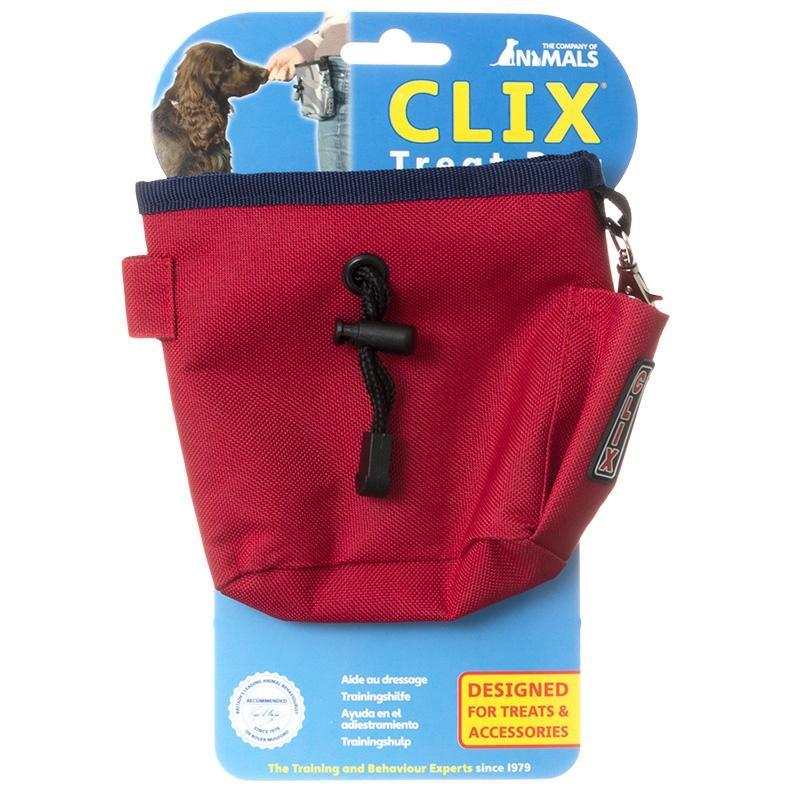 CLIX Clix Treat Bag Red