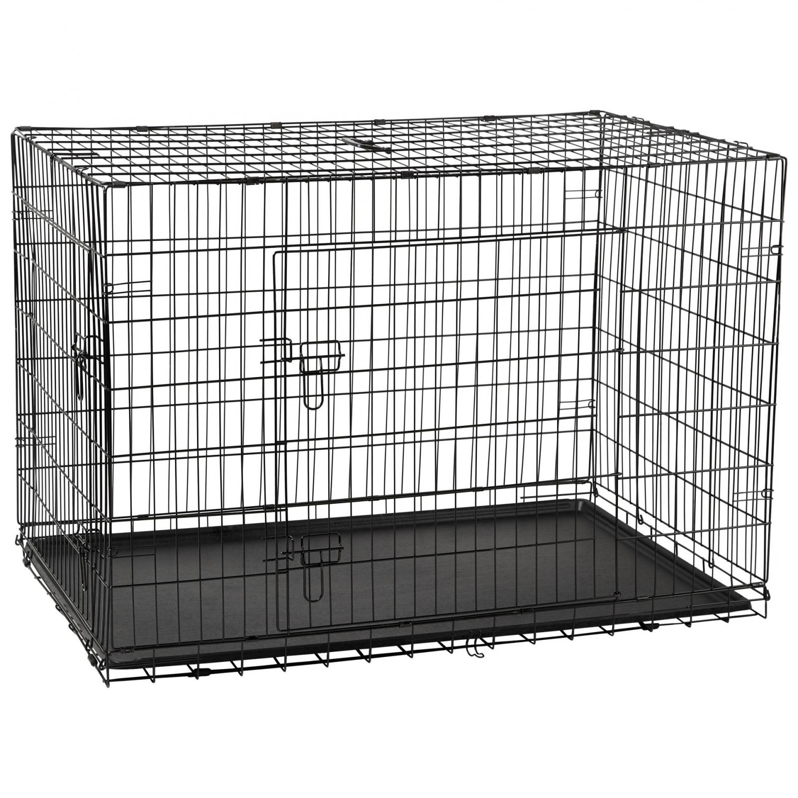 LEXI & ME Lexi & Me Black Wire Crate with Tray
