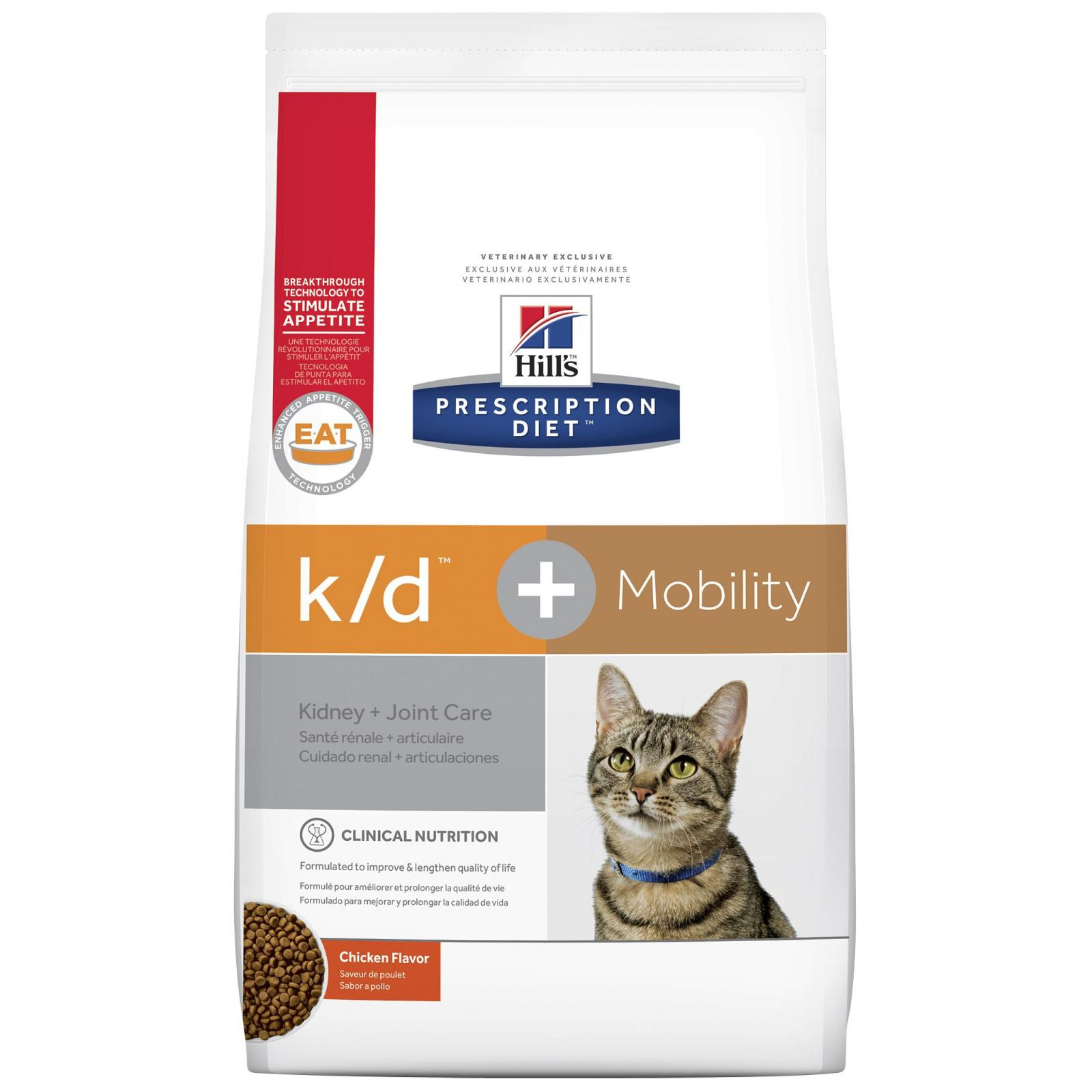 Hill's VET Hill's Prescription Diet K/D P lus Mobility Feline