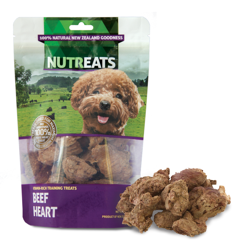 NUTREATS Nutreats Beef Heart Freeze Dried Dog Treats