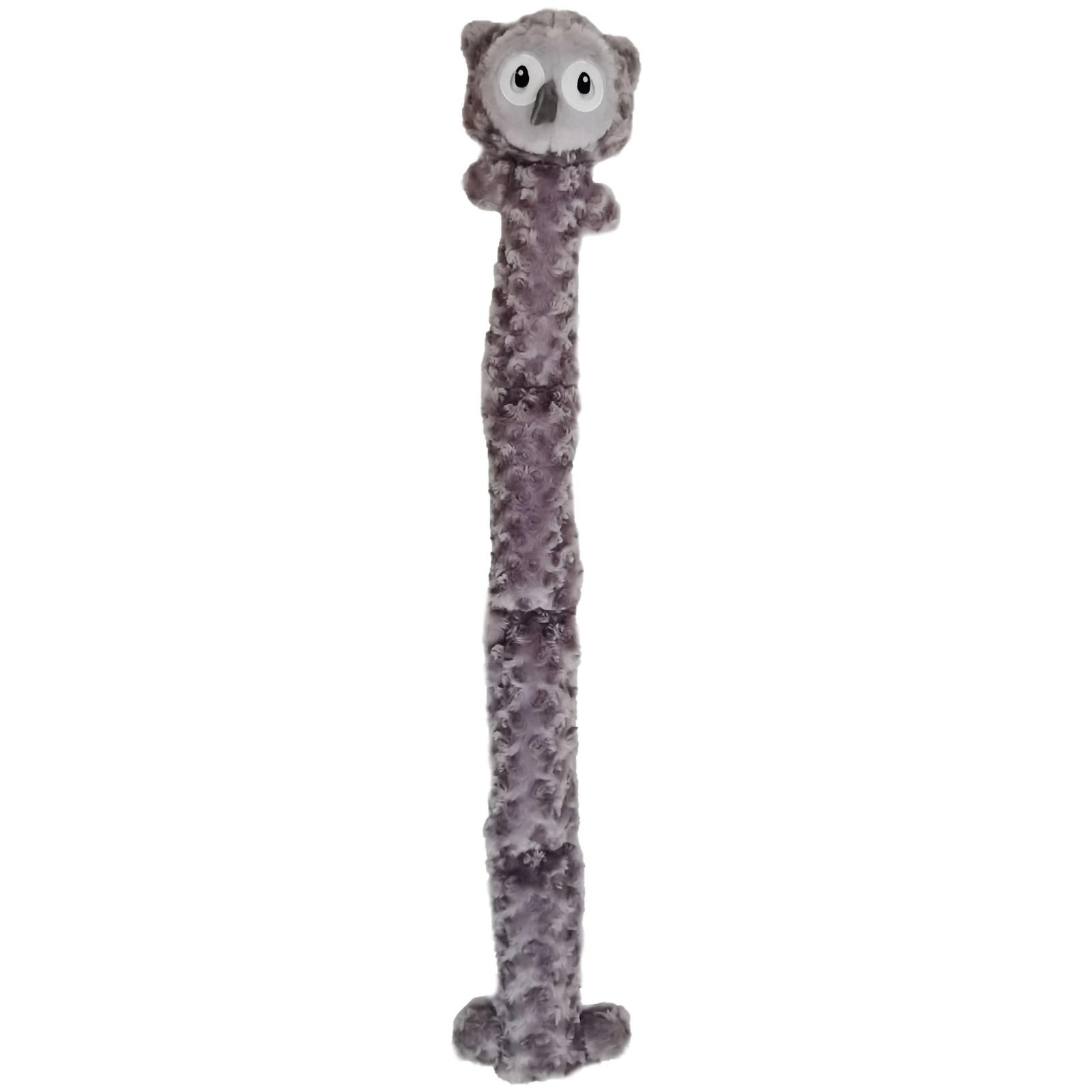 Bark-a-boo BARK-A-BOO Plush Long Toy With Squeak Owl